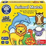 Orchard Toys Animal Match Mini / Travel Game