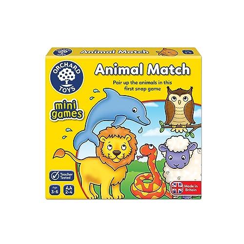 Orchard Toys Animal Match Mini / Travel Game
