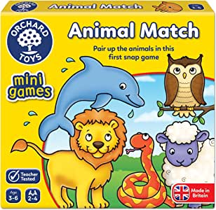 Orchard Toys Mini Games - Animal Match