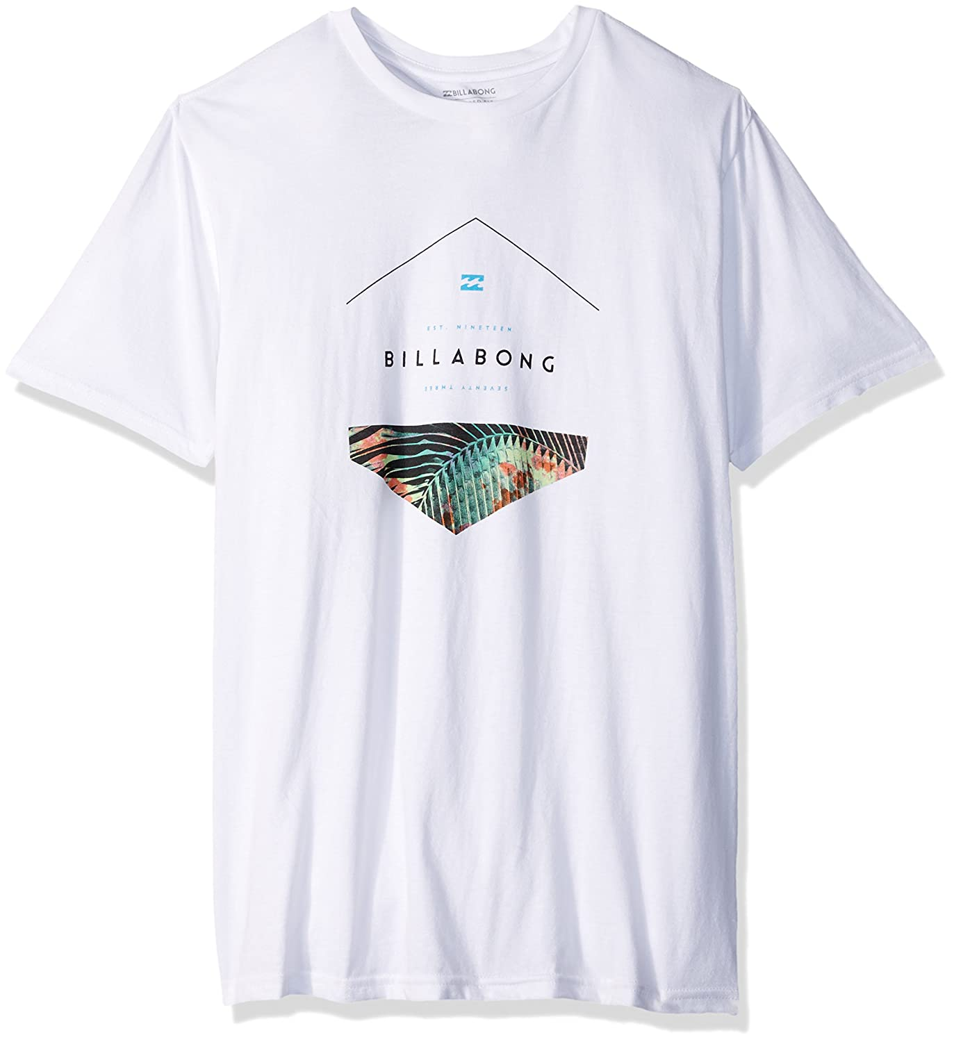 Billabong Men's Split Hex Short Sleeve Knit Crew T-Shirt