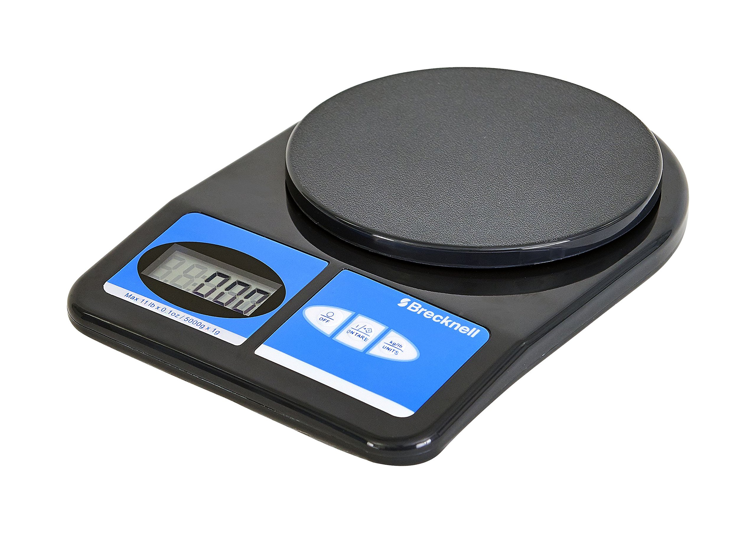 Brecknell 311 Electronic Office Scale, 11 lb Capacity, LCD Display, Battery Operated by Brecknell