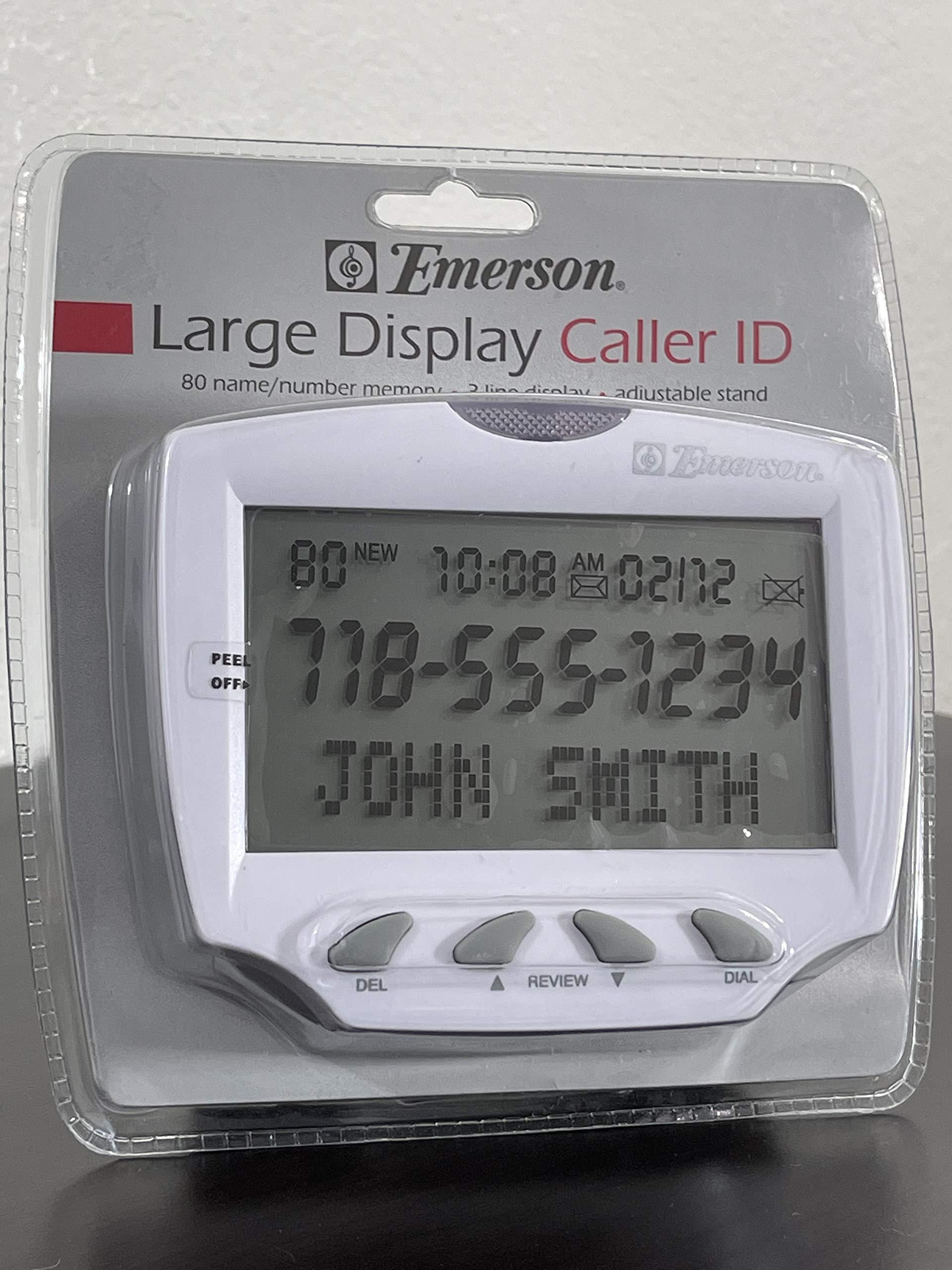 Emerson EM50LD Large Display Caller ID