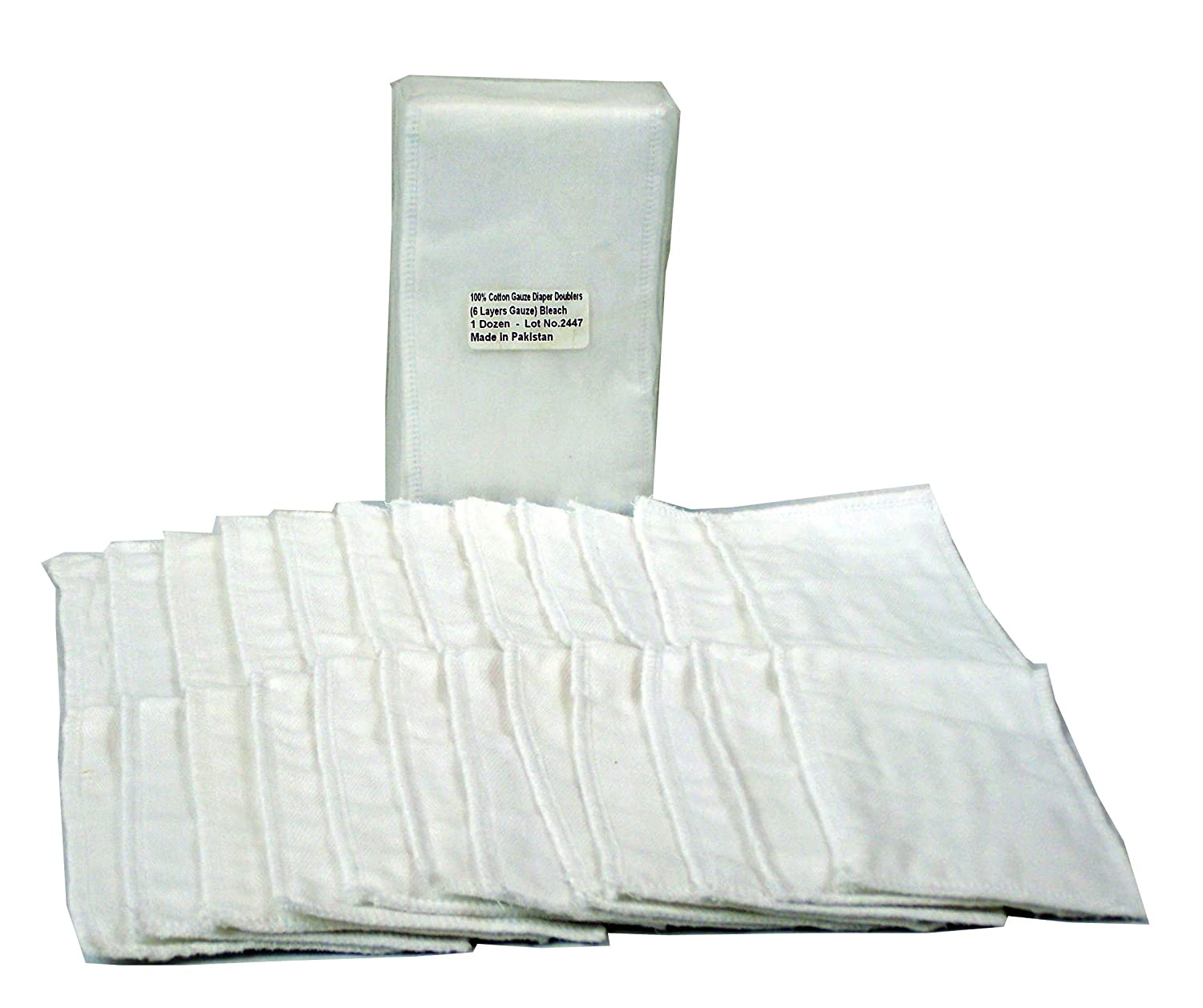OsoCozy Gauze Diaper Doublers (dz) (Bleached) All Togther Enterprises