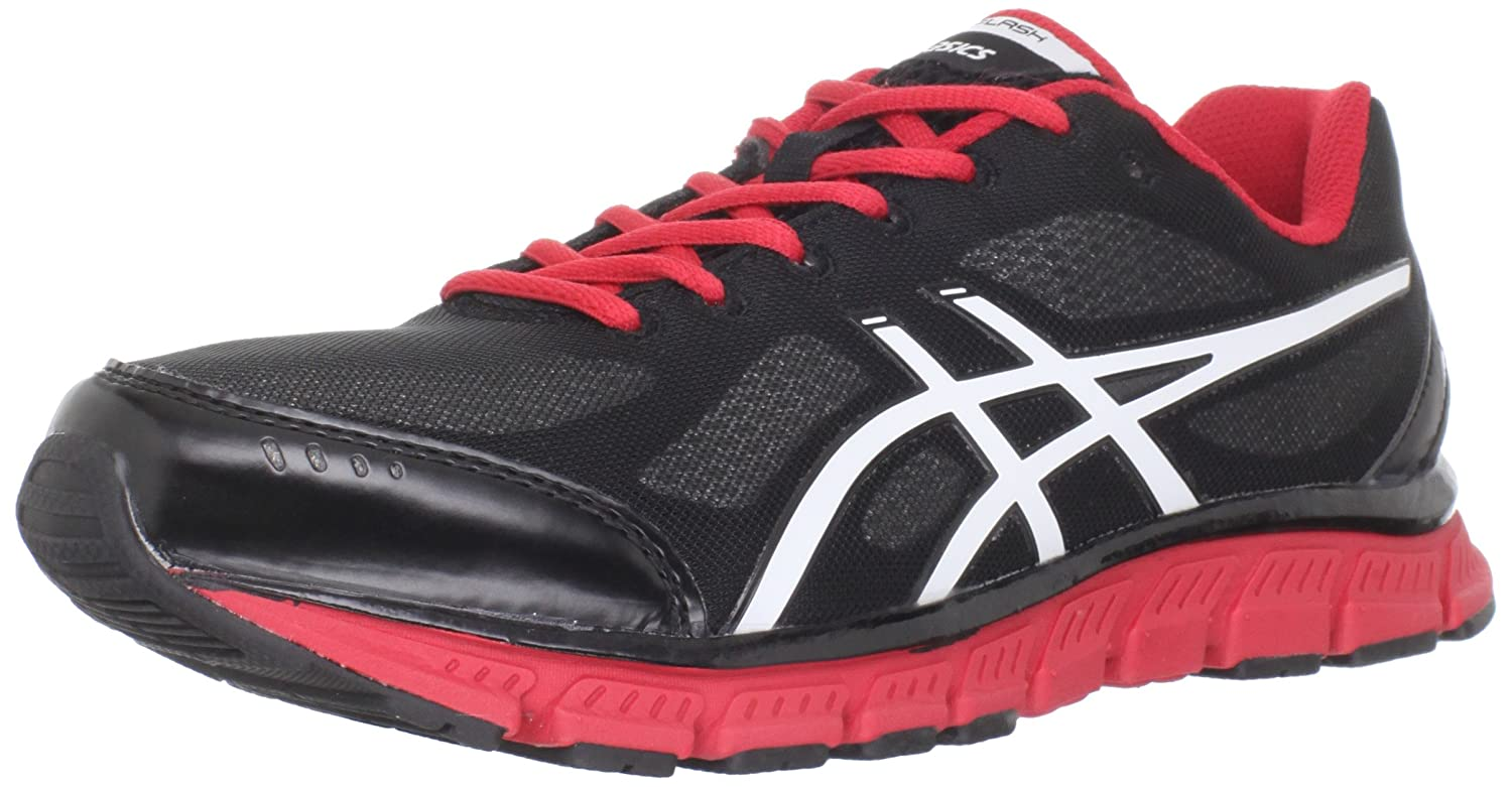 Amazon.com | ASICS Men's GEL-Flash Running Shoe, Black/White/Red, 11.5 M US  | Road Running