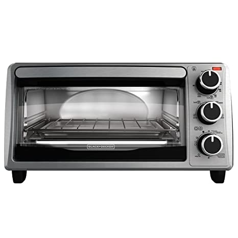 Review BLACK+DECKER 4-Slice Toaster Oven,