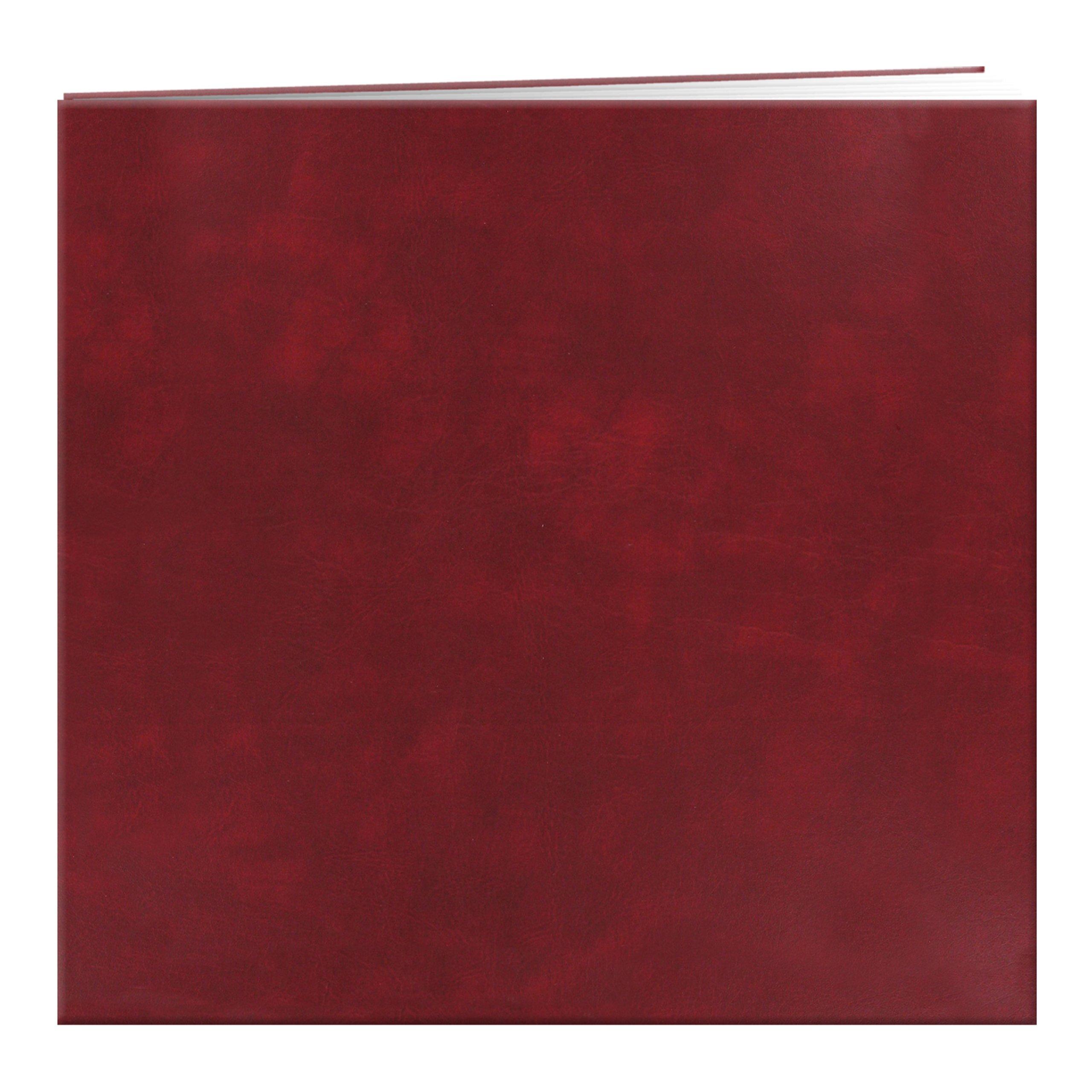Pioneer MB-10 B Leatherette Post Bound Album 12''X12''-Burgundy