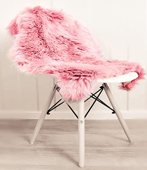 Superbe HL Faux Fur Fluffy Sheepskin Rug For Living Room Hand Made Seat Pad Shag  Fuzzy