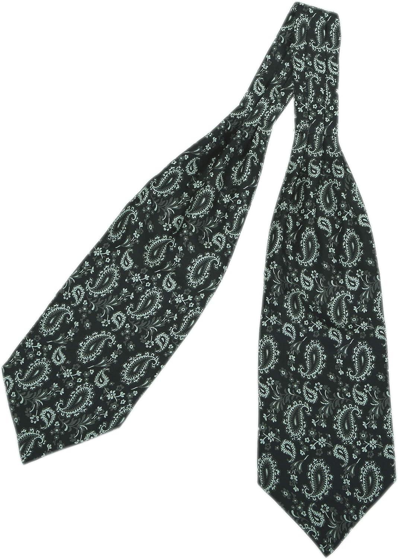 WANYING Uomo Cravatta Ascot /& Fazzoletto da Taschino Fazzoletto da Collo Paisley Retr/ò Chic Set di 2 Pezzi per Signore