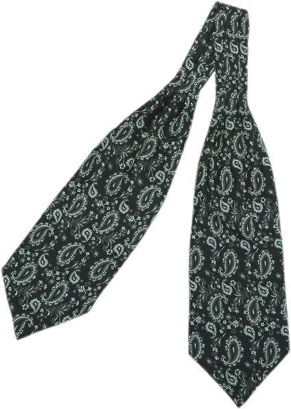prettystern - corbata hombres bufanda 100% seda salvaje de 2 capas ...