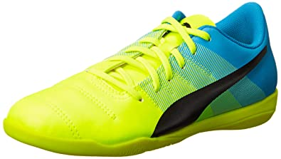 Puma Damen EvoPower 4.3 IT Hallenschuhe, Gelb (Safety Yellow