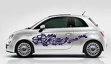 29217b81bd Amazon.com   Flowers Girly Design Car Side Vinyl Graphics Vehicle Wrap Car  Side Design G6565   Baby