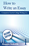 How to Write an Essay, Workbook 1 (College Writing)