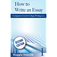 How to Write an Essay, Workbook 1 (College Writing) (English Edition)