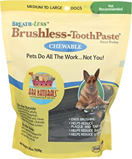 product image for Ark Naturals Breath-less Brushless Toothpaste, Medium Breed Dogs (18 oz) - Packaging May Vary
