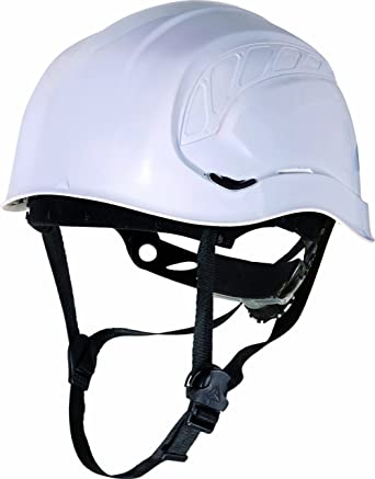 Delta plus - Casco obra granite peak blanco fluo con aislante: Amazon.es: Amazon.es