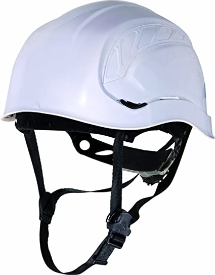 Delta plus - Casco obra granite peak blanco fluo con aislante