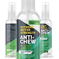 Bitter Apple Spray for Dogs to Stop Chewing Furniture & Household Items 5X Strength NO CHEW Spray - Natural, Alcohol…
