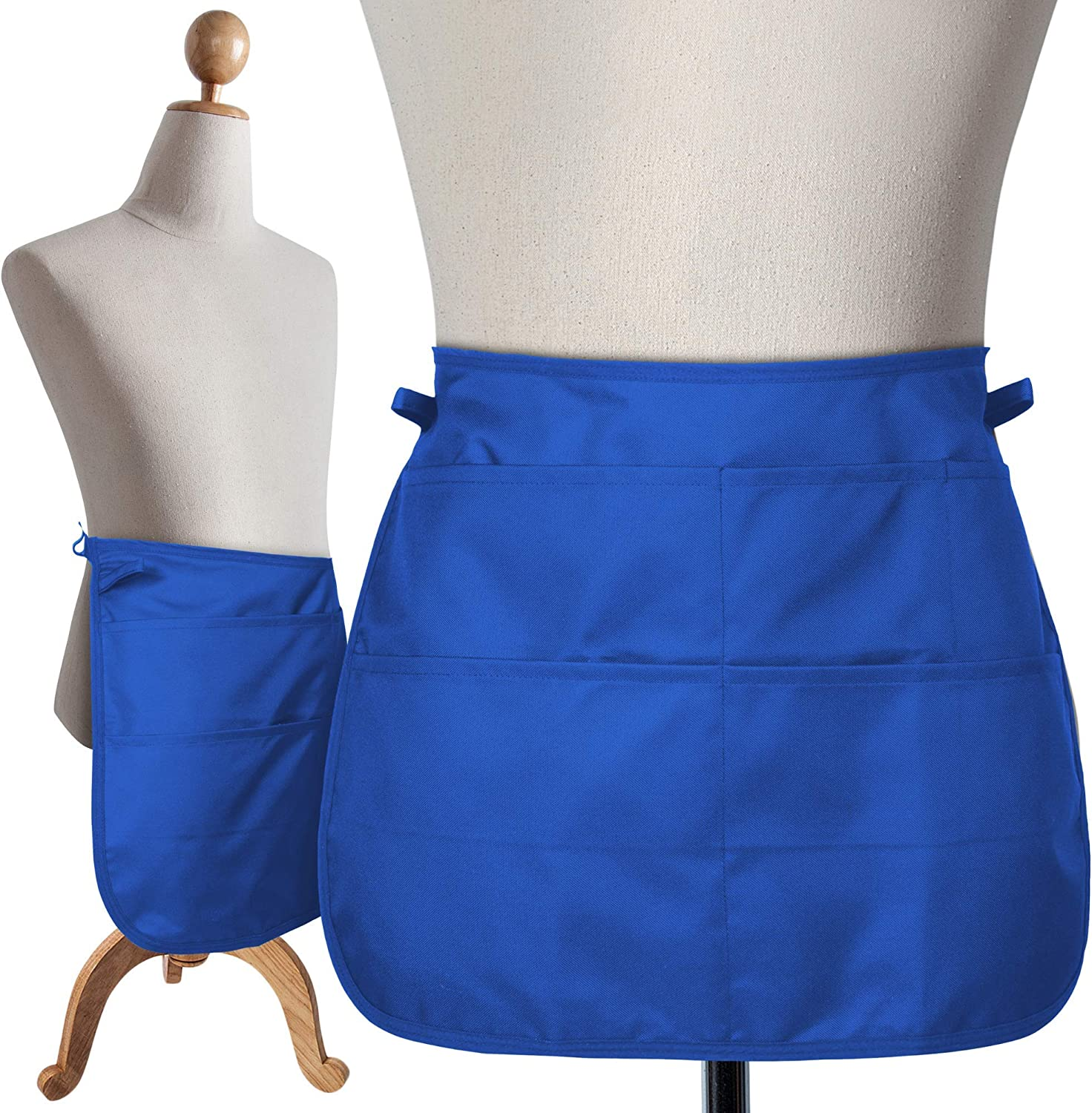 "SupplyMaid Professional Cleaning Apron, Used by 1000s of House Cleaners, Hotels, Casinos and More.""Like a Cleaning Caddy Around Your Waist"" - Speeds Up Cleaning, Saves Time & Money"