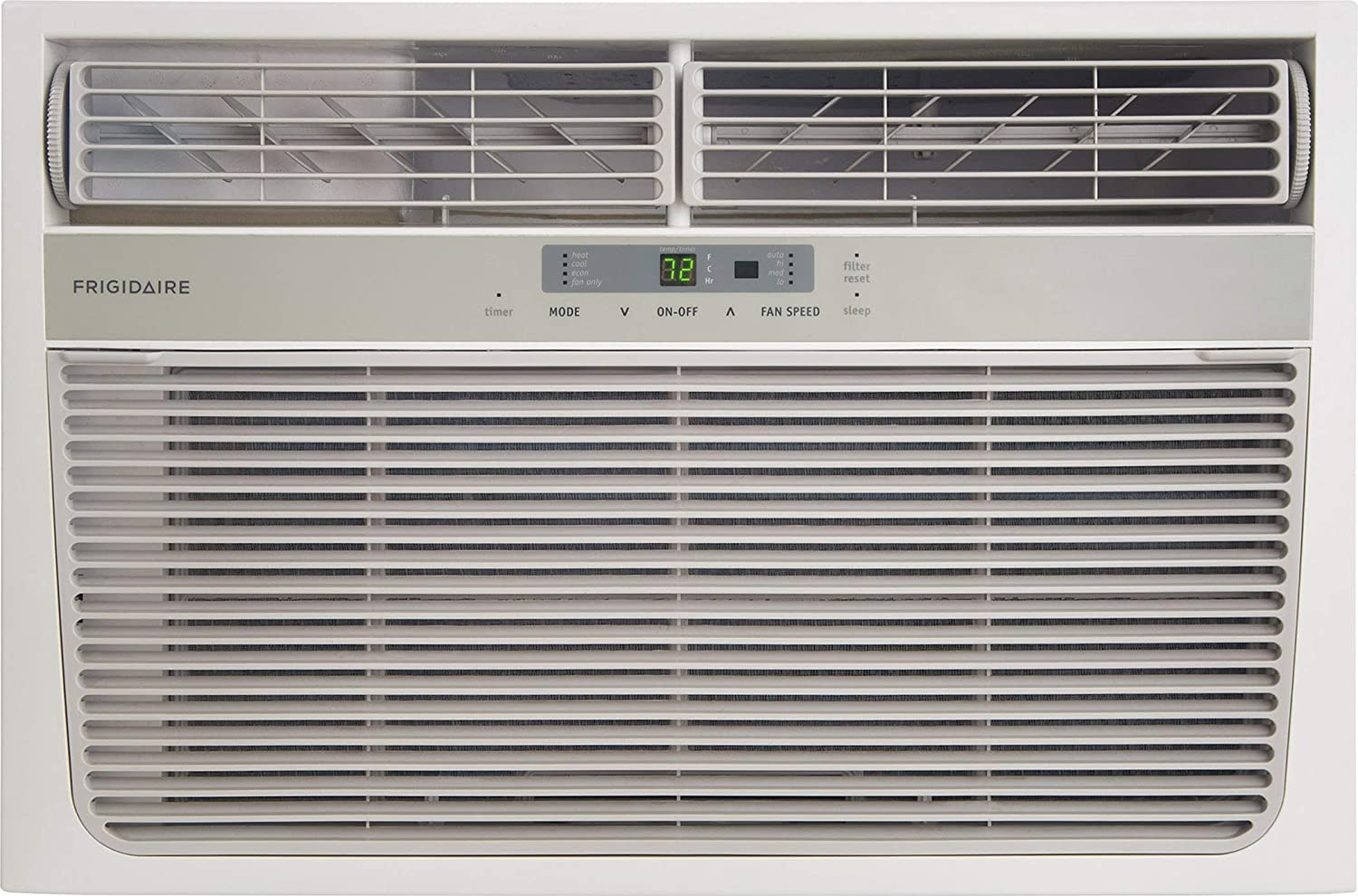 FRIGIDAIRE 11,000 BTU 115-Volt Heat/Cool Window Air Conditioner with Remote Control White