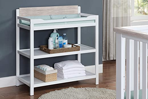 Suite Bebe Hayes Changing Table, White/Natural