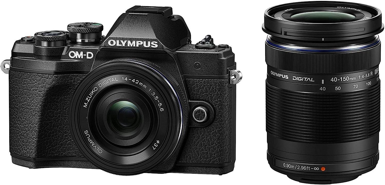 Olympus OM-D E-M10 Mark III, Kit cámara de sistema Micro Cuatro ...