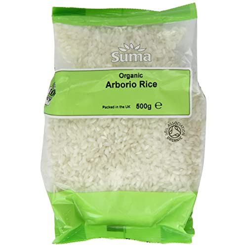 Suma Organic Arborio Rice 500 g (Pack of 6)