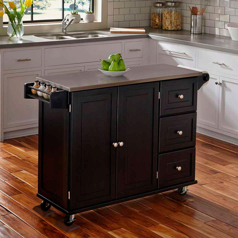 X-PROTECTOR - Vasos de muebles 4 unidades. Goma Caster Cups muebles posavasos - mejor Protector de suelos para todos los pisos y ruedas.