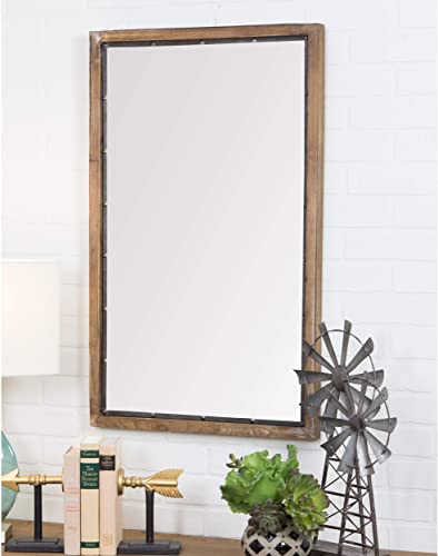 Aspire 5520 Wall Mirror, Brown