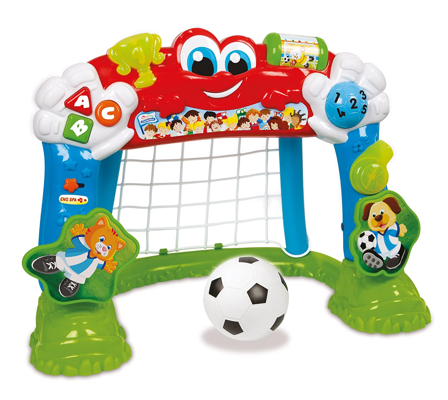 Clementoni Baby World Cup Winner 2 in 1 Talking & Singing Goal