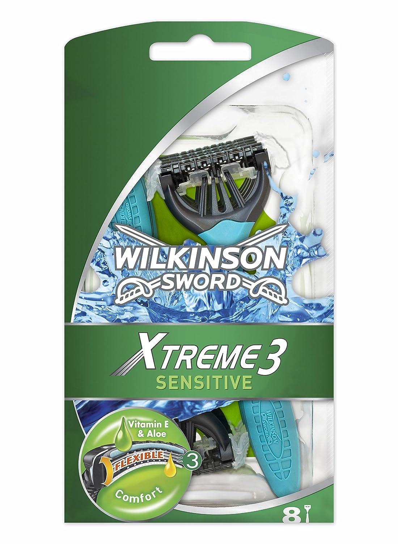 Amazon.com: Wilkinson Sword Xtreme 3 maquinillas de afeitar ...