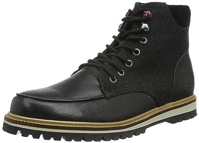 blk 2 Lacoste 7 Ankle 316 Men's Black Boots Montbard 024 CCwUxAq