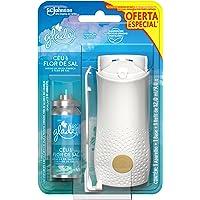 Desodorizador Glade Toque de Frescor Aparelho com Refil Ceu e Flor 12Ml Oferta Especial, Unica