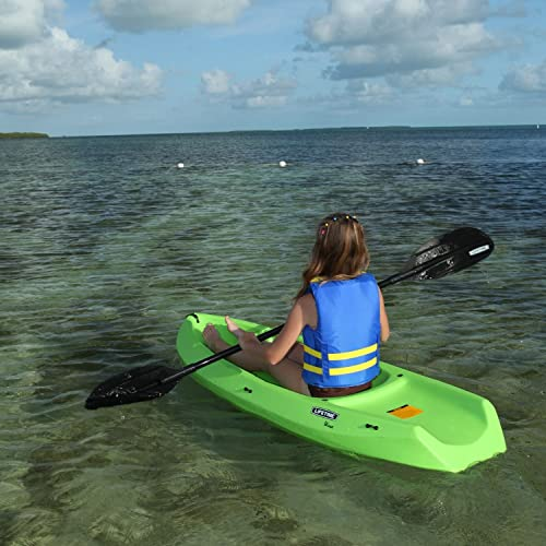 Youth Wave Kayak With Paddle Color Lime Green