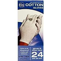 Cara Modelo Caja de dispensador de guante de algodón, 24unidades, Large - 24 Count