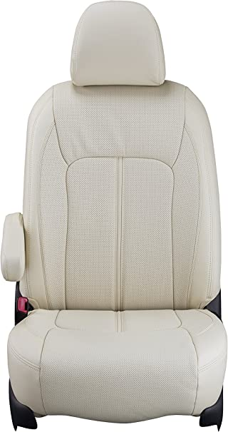 Clazzio 700232tan Tan Leather Front and Rear Row Seat Cover for Dodge Charger SE//RT