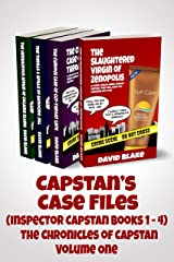 Capstan's Case Files (Inspector Capstan books 1 - 4): The Chronicles of Capstan Volume One, a funny urban crime comedy series that will have you laughing out loud Kindle Edition