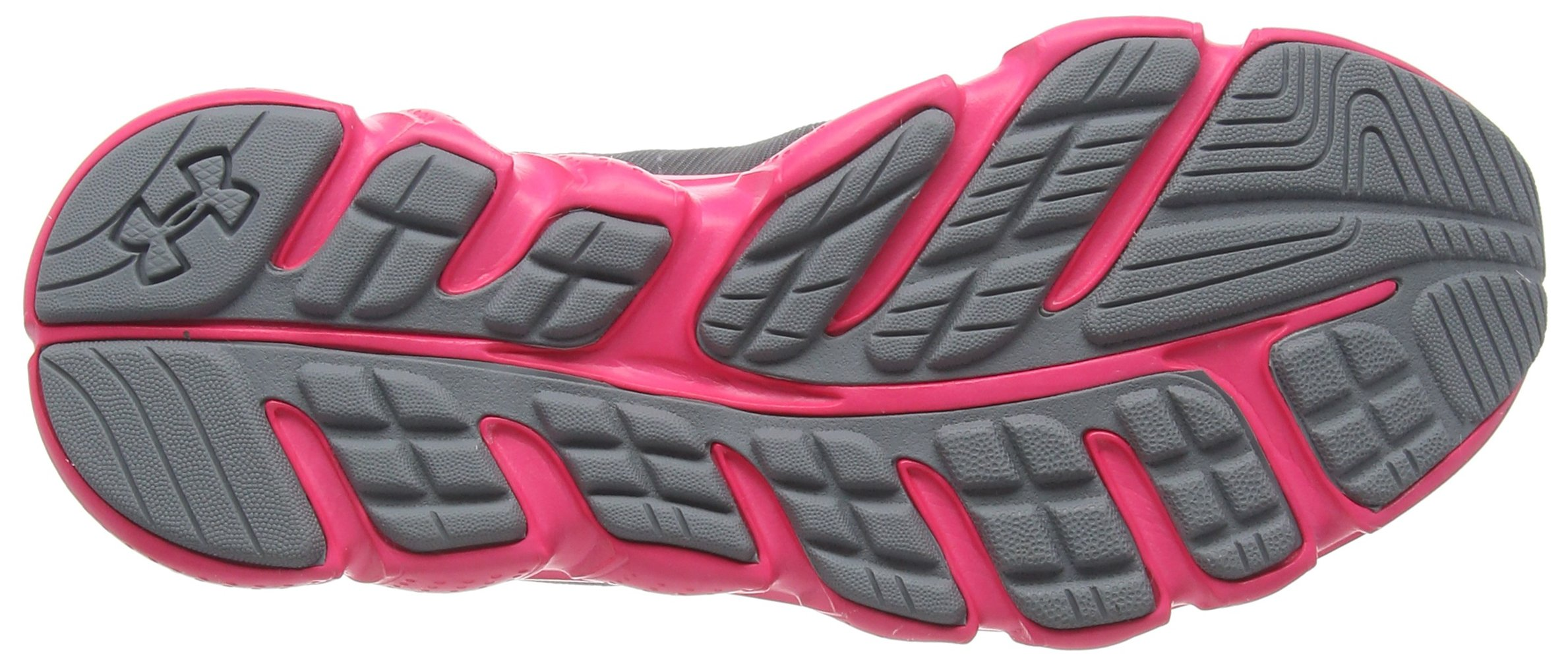 Under Armour Girls' Grade School Micro G Assert 6, Steel (036)/Harmony Red, 5.5 by Under Armour (Image #3)