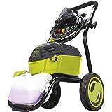 Sun Joe SPX4600 3000 PSI MAX 1.30 GPM High Performance Electric Pressure Washer, Green