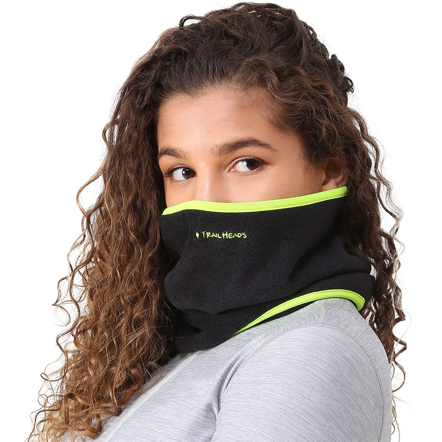 TrailHeads Neck Warmer - black/hi-vis