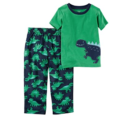 e607cd34a77a Amazon.com  Carter s Boys  4-8 2 Piece Dinosaur Cotton Pajama Set 5 ...