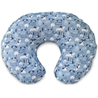 Boppy Original Pillow Cover, Blue Dog Park, Cotton Blend Fabric with allover fashion, Fits ALL Boppy Nursing Pillows and Positioners