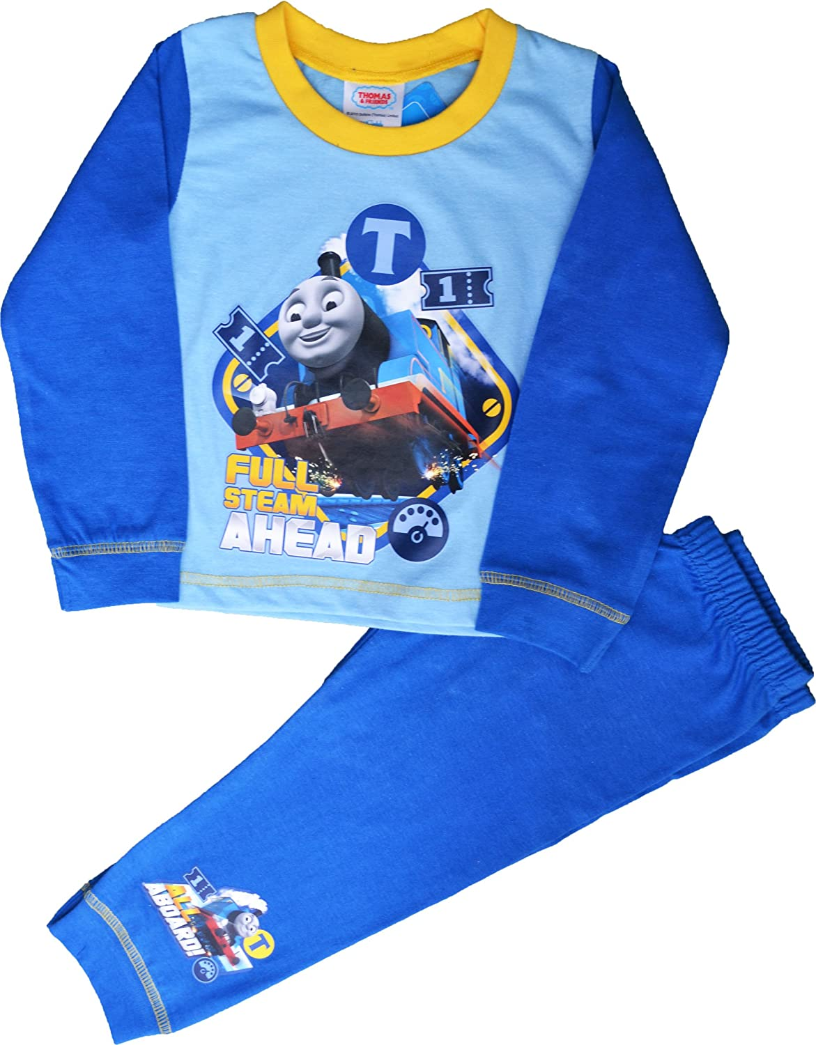 Boys Thomas Tank Engine No 1 Pyjamas Sizes 12 Months to 4 Years