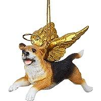 Christmas Tree Ornaments - Honor The Pooch Beagle Holiday Angel Dog Ornaments