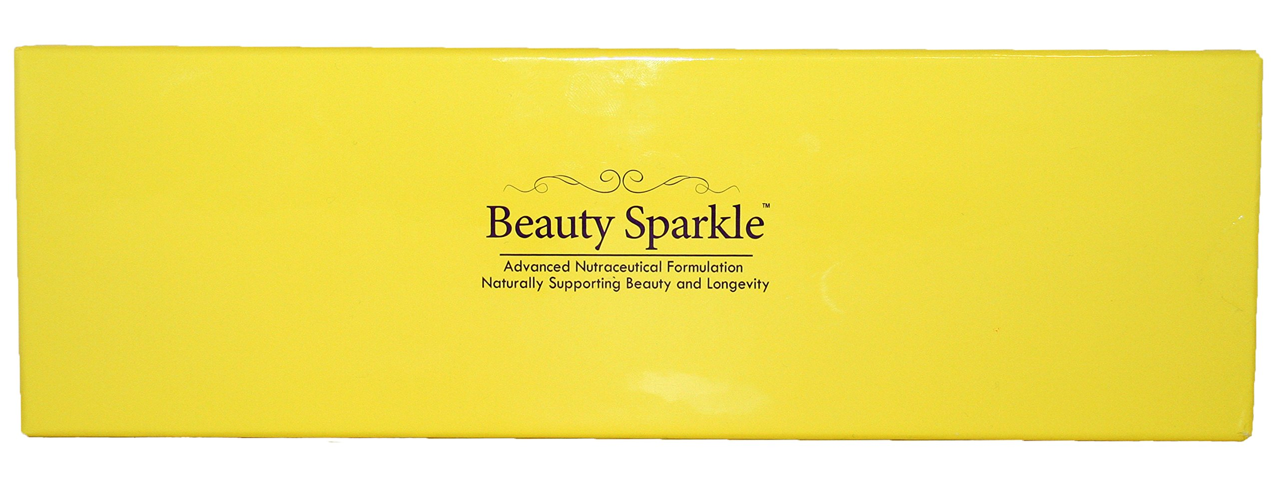 Vision Smart Center - Beauty Sparkle Active Blackcurrant Antioxidant and Anti-Glycation Mangostin VINOFELON Trans-Resveratrol Co-Q10