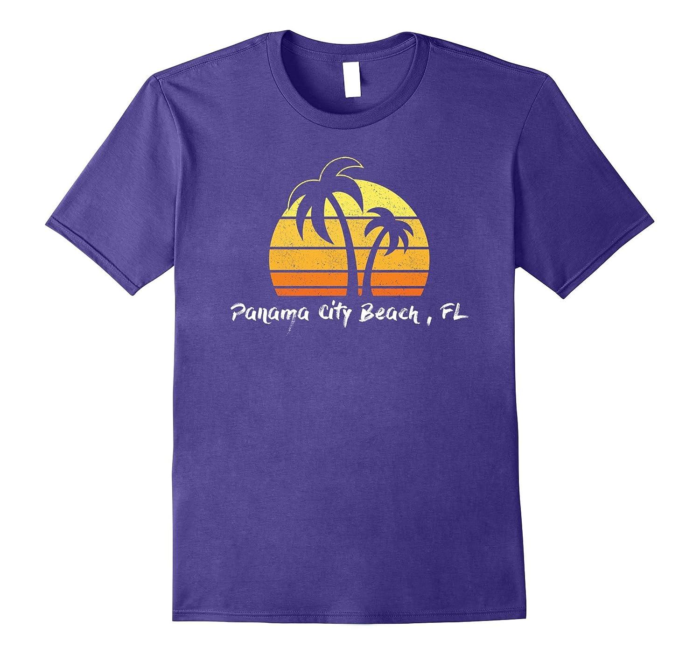 Retro Panama City Beach T-shirt Florida Beach Shirt-CD