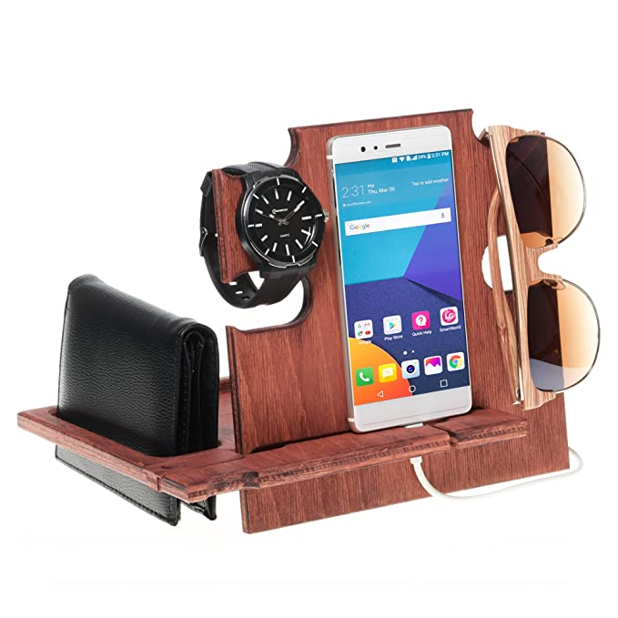 f269f07753ed Image Unavailable. Image not available for. Color  Docking Station  Mahogany