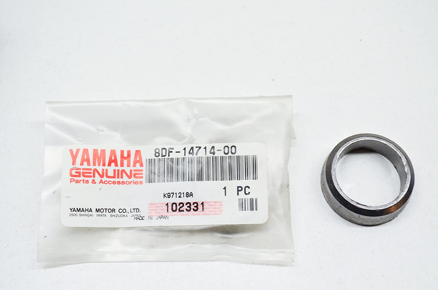 Muffler; 8DF147140000 Made by Yamaha Yamaha 8DF-14714-00-00 Gasket