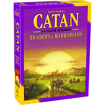 Catan Extension: Traders & Barbarians 5-6 Player: Toys & Games