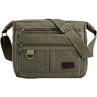 Multifunctional Canvas Messenger Bag | Canvas Messenger Bag | Vintage Canvas Crossbody Bag | Unisex Design Canvas Sling Bag for Men, Women