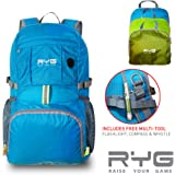 Outdoor Folding Backpack Hiking Waterproof Camping Ultralight Storage Bag